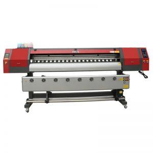 1800mm 5113 buru bikoitza, ehungintza digitala inprimatzeko makina tintazko inprimagailua, bandera WER-EW1902