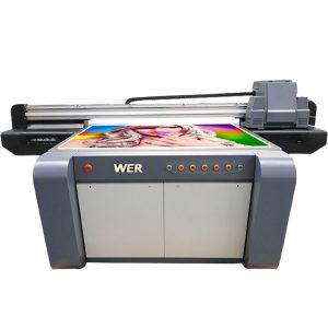 3D efektu UV flatbed inprimagailu, zeramika inprimagailu, fitxak inprimatzeko makina Txinan WER-EF1310UV