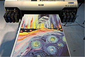 Canvas A2 UV Inprimagailuaren lagin WER-EH4880UV