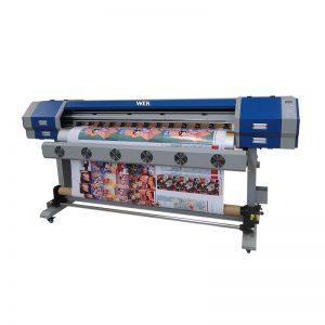 EW160 / EW160I formatu handiko bi DX7 buru autoa sublimazio paper inprimagailua biltzen