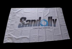 Bandera Tela banner inprimatua 1,6 m (5 oinak) eco disolbatzaile inprimagailua WER-ES160