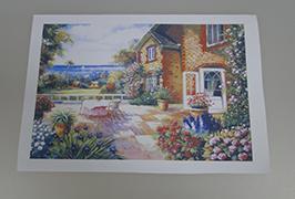Oil Canvas inprimatutako 2.5m (8 oinak) eco disolbatzaile inprimagailua WER-ES2501 2