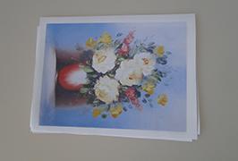 Oil Canvas inprimatutako 2.5m (8 oinak) eco disolbatzaile inprimagailua WER-ES2502