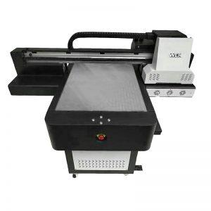 Tamaina txikia kalitate handiko telefonoaren kasua flatbed UV inprimagailua WER-ED6090UV