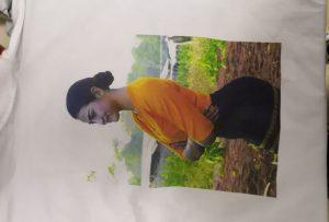 Kamisetak inprimatzeko lagin bat Birmanian WER-EP6090T inprimagailu bezeroarentzat