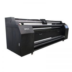 WER-E1802T 1.8m-ko inprimagailurako zuzenean 2 * DX5 sublimazio inprimagailuarekin