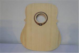 Wood gitarraren A2 tamainako inprimagailu lagin WER-DD4290UV