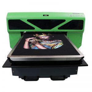 sublimazio digitala inprimatzeko zure logotipoa pertsonalizatu kotoi kamiseta kamiseta DTG kamiseta WER-D4880T inprimagailua
