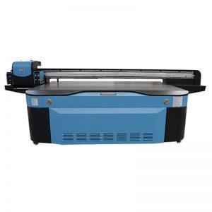 full color CMYK LCLM barniz zuri UV flatbed printer 3D WER-G2513UV