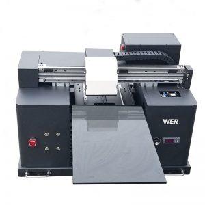 kamiseta / inprimatutako kamiseta makina / DTG kamiseta inprimagailu digitala WER-E1080T diseinu pertsonalizatuarekin