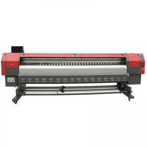 abiadura handiko 3,2m disolbatzaileen inprimagailua, inprimagailu digitala flex inprimatzeko makina prezioa WER-ES3202